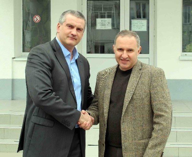 Борис Тодуров та пан Аксьонов - фото 29083