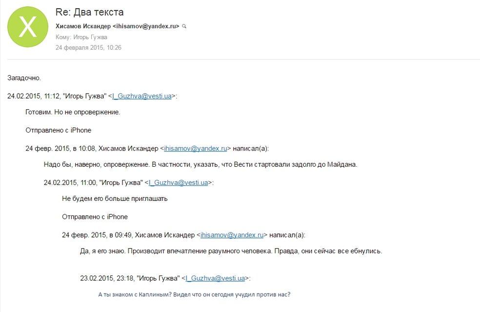 Как российские пропагандисты контролируют редакционную политику Страны.юа - фото 31590