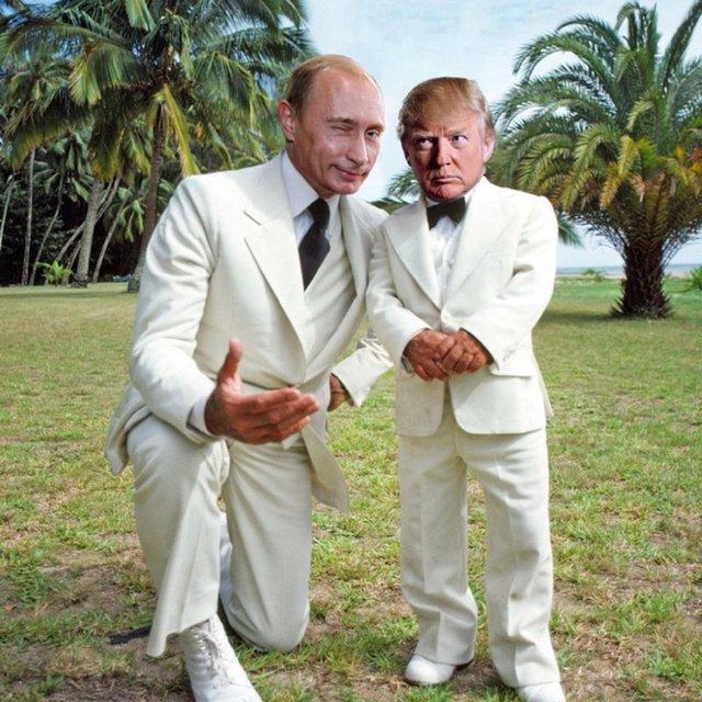 Кроха Трамп. Социальные сети захватывает новый мем - фото 35331