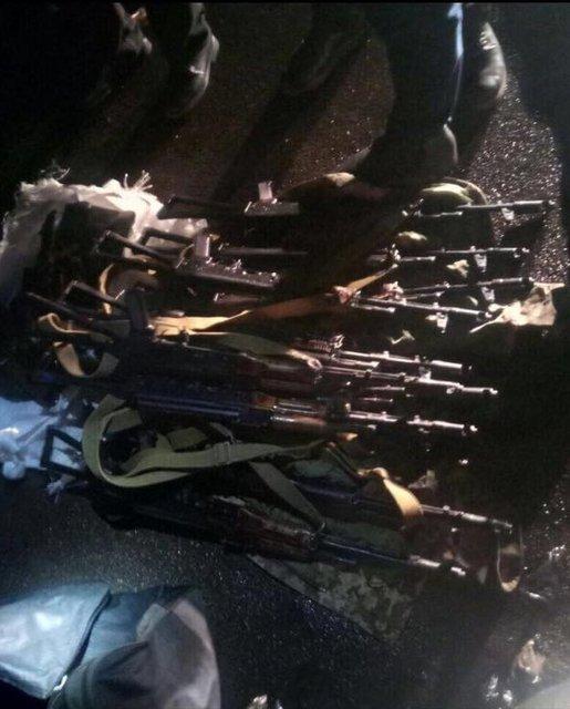 Контрактник из Одессы вез на Майдан 12 автоматов и снайперскую винтовку - фото 35460