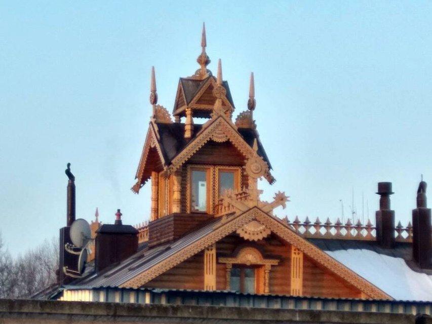 Бойко строит под Киевом русский терем - фото 35152