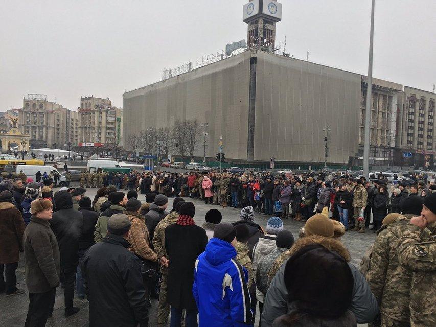 В Киеве прощаются с героически погибшими защитниками Авдеевки - фото 32464