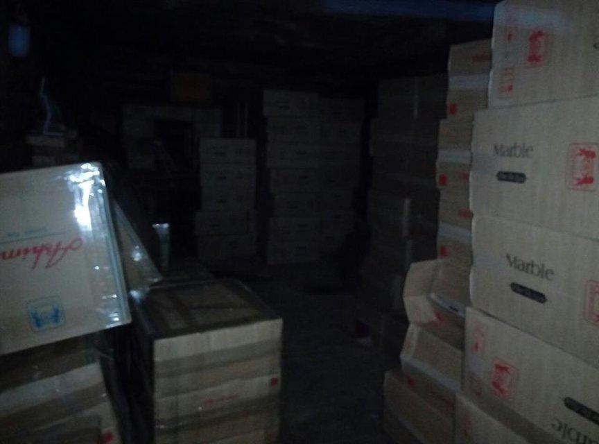 В Черновицкой области обнаружили контрабанду сигарет на 1,4 миллиона гривен - фото 34051