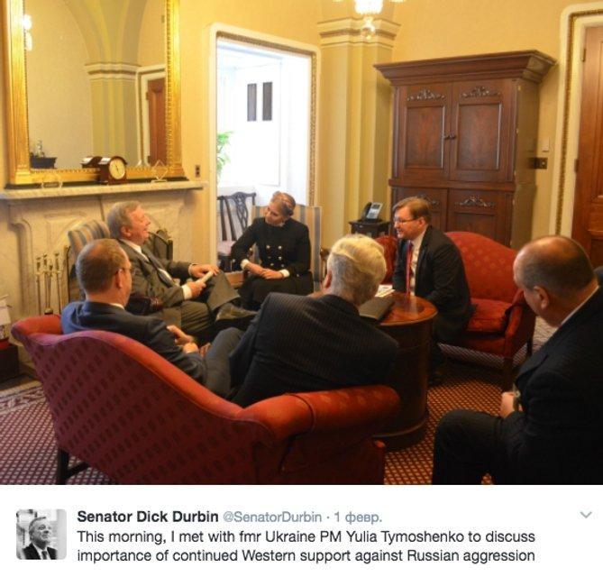 Тимошенко посетила Молитвенный завтрак Трампа - фото 32805