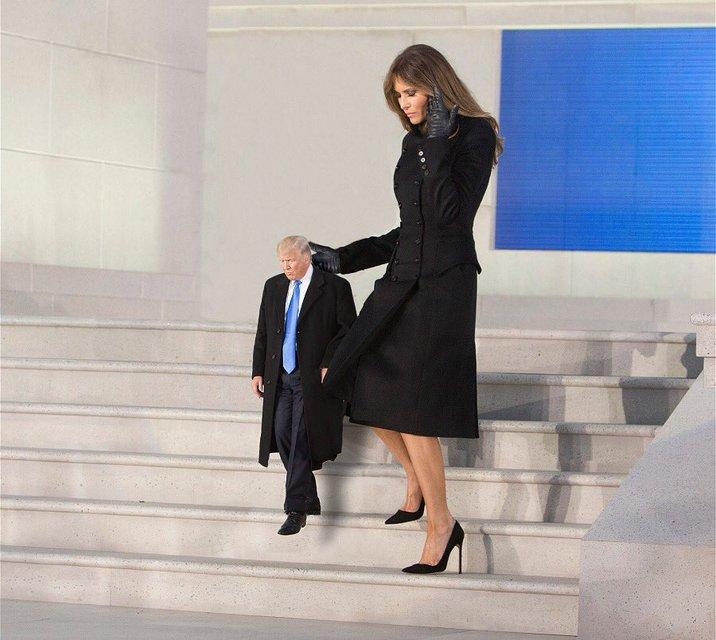 Кроха Трамп. Социальные сети захватывает новый мем - фото 35322