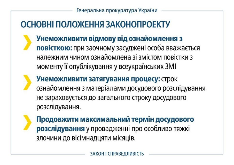 Рада изменила закон для осуждения Януковича - фото 35705