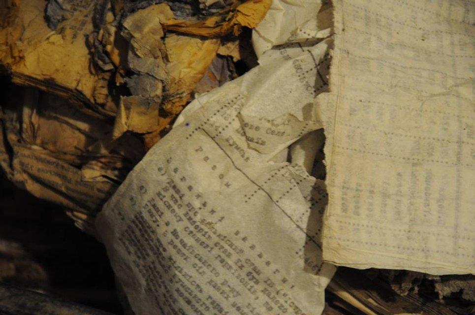 Сотрудники СБУ случайно нашли тайник с документами ОУН - фото 34227