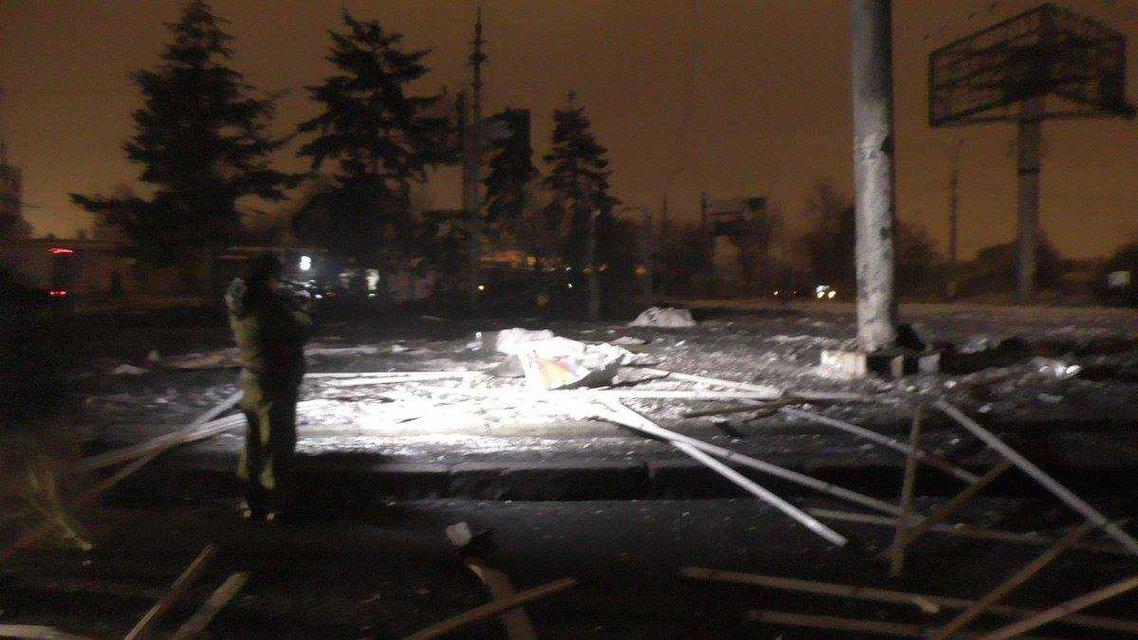 Донецкая область содрогнулась от страшного взрыва - фото 32766