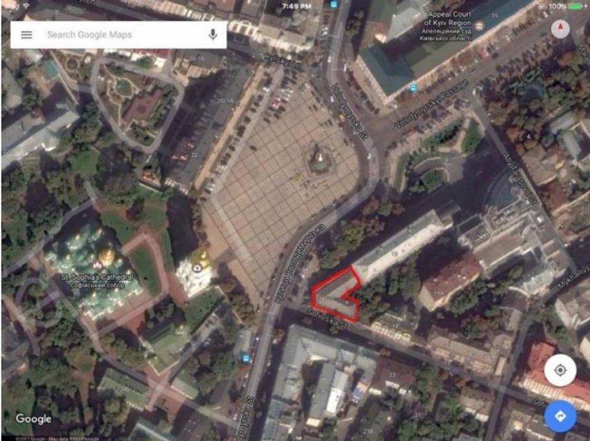 Напротив Софии Киевской хотят построить 10-этажку с башней - фото 35862