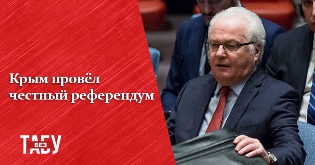 Голос России. Самые скандальные заявления Виталия Чуркина - фото 35315
