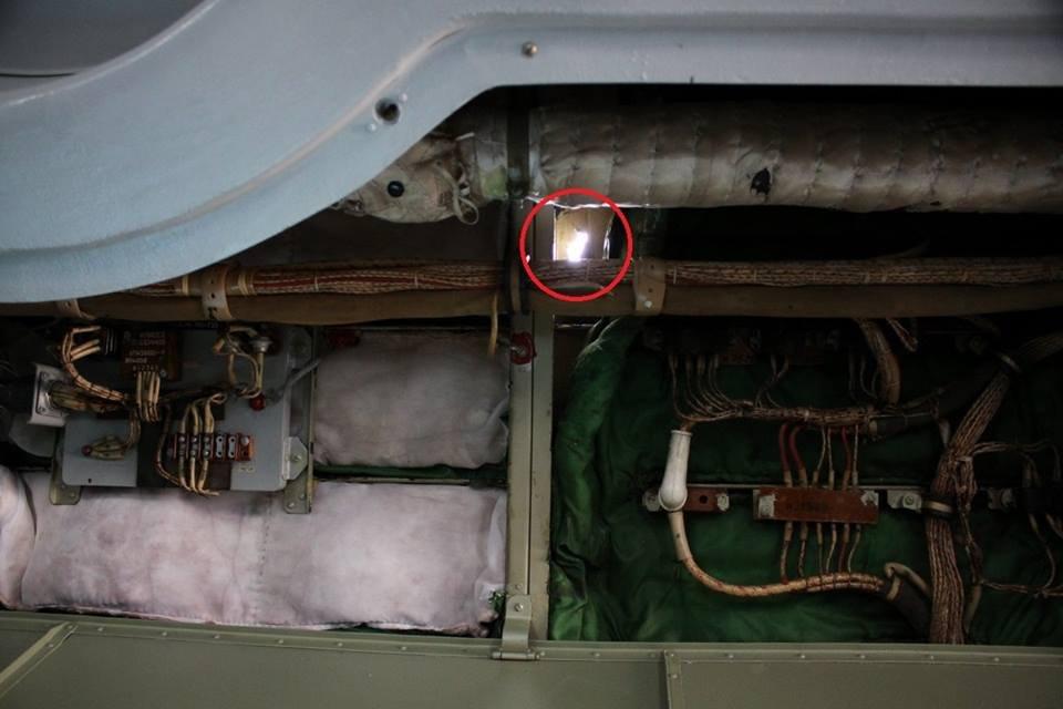 Минообороны опубликовало фото самолета ВМС Украины, обстрелянного с корабля ЧФ РФ - фото 32528
