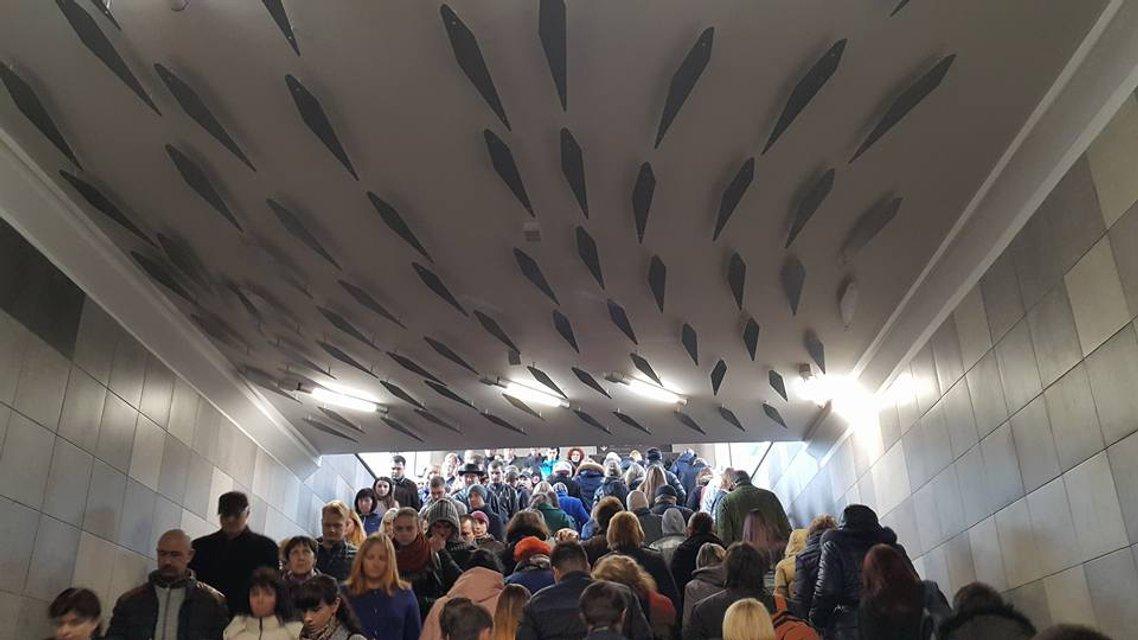 Появилось фото обновленной станции Левобережной - фото 39473