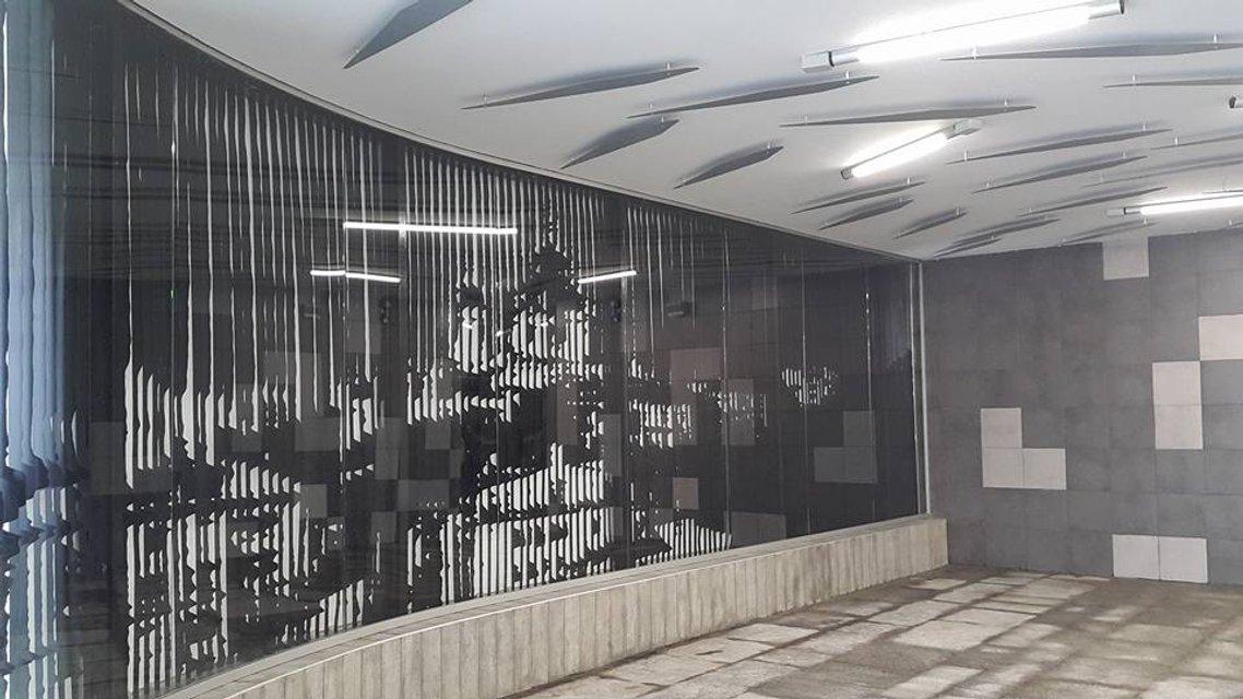 Появилось фото обновленной станции Левобережной - фото 39472