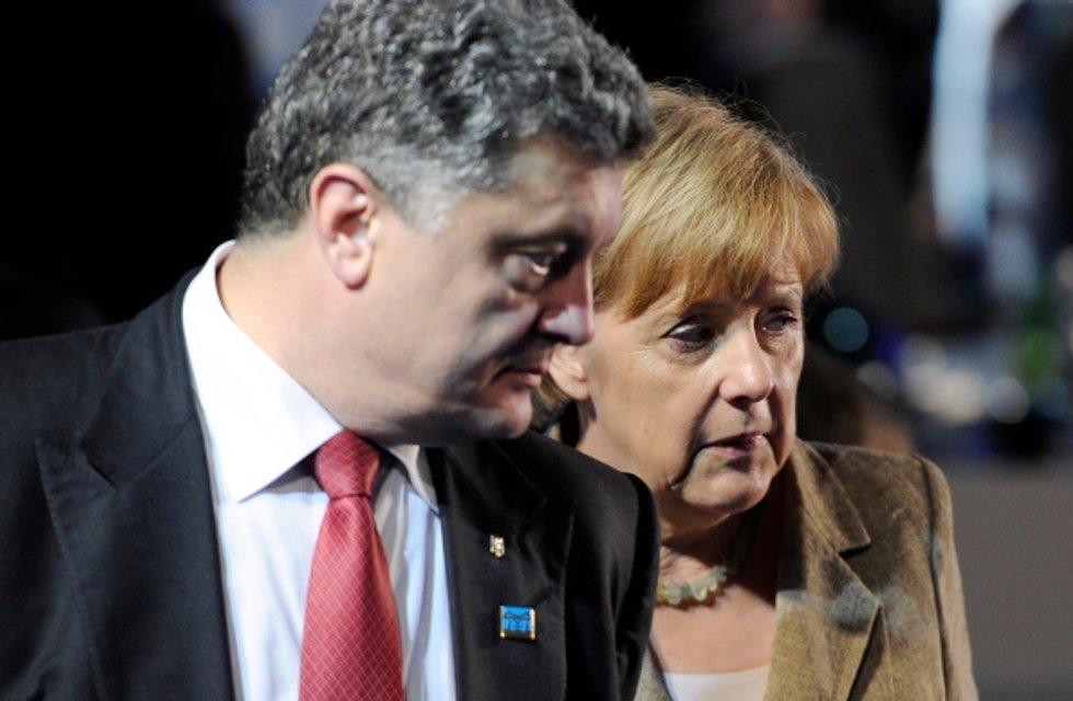 Порошенко та головний прихильник України в ЄС - фото 36510