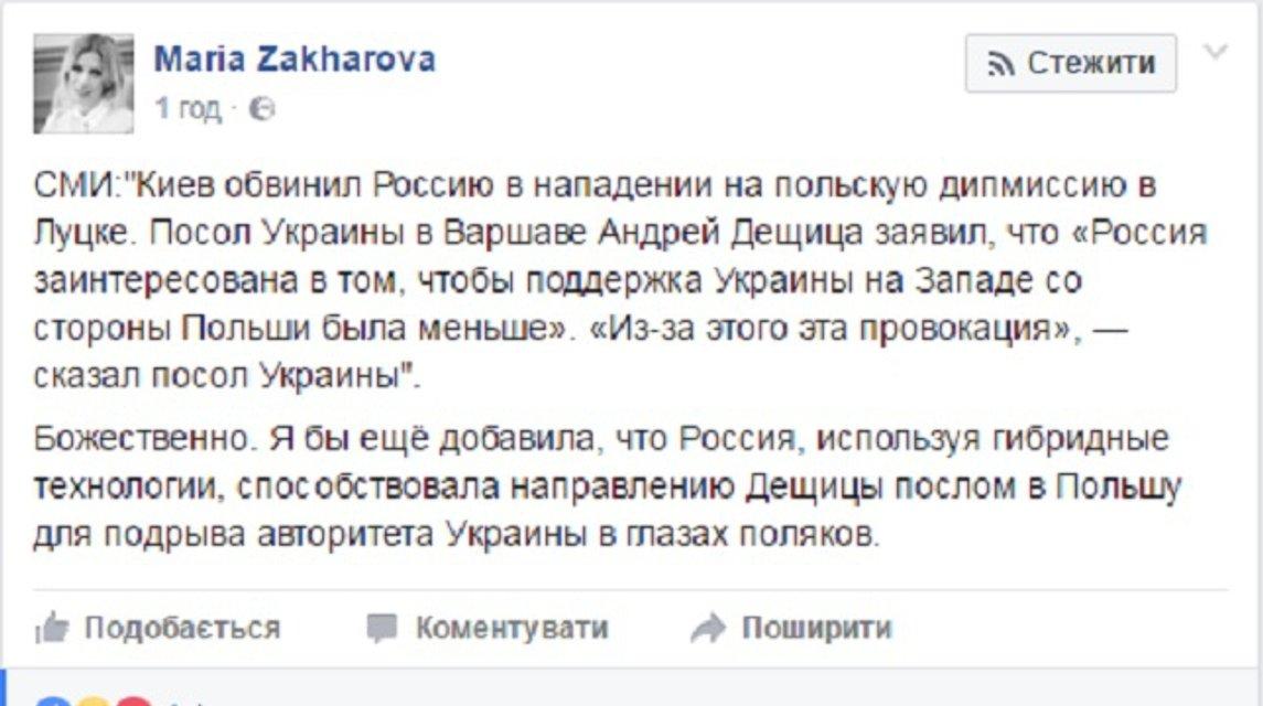 Россия ответила на обвинения в обстреле консульства Польши - фото 40326