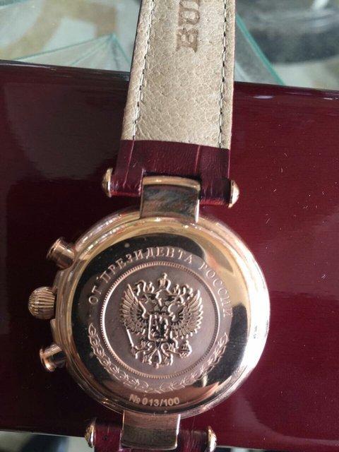 У подозреваемого в хищении директора ГП нашли золотые часы от Путина - фото 37310