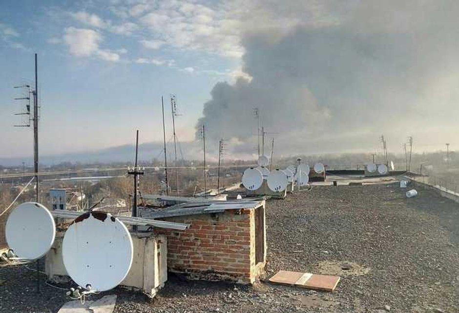 Балаклея в огне - фоторепортаж и видео очевидцев - фото 39445