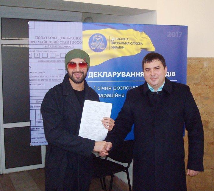Счастливые декларанты. Монатик и Козловский уже подали декларации: промо-компания ГФС - фото 40131