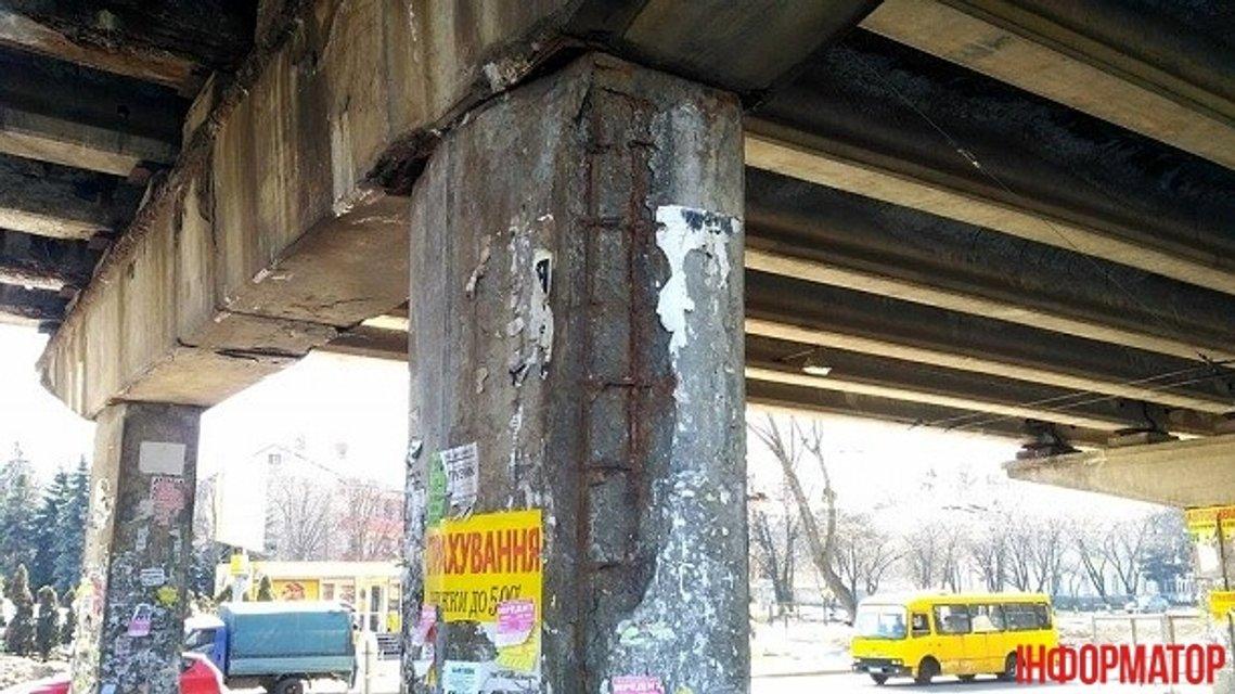 В Киеве рушится еще один мост - фото 40373