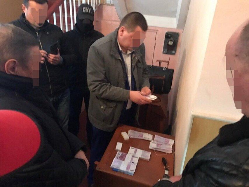 СБУ задержала главу сельсовета на взятке в 250 тысяч евро - фото 39053