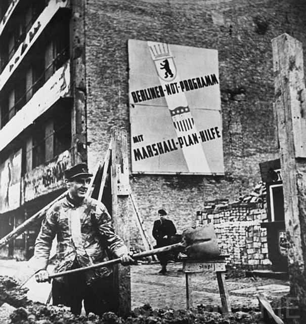 """Яким бачили """"План Маршалла"""" в Німеччині - фото 40944"""