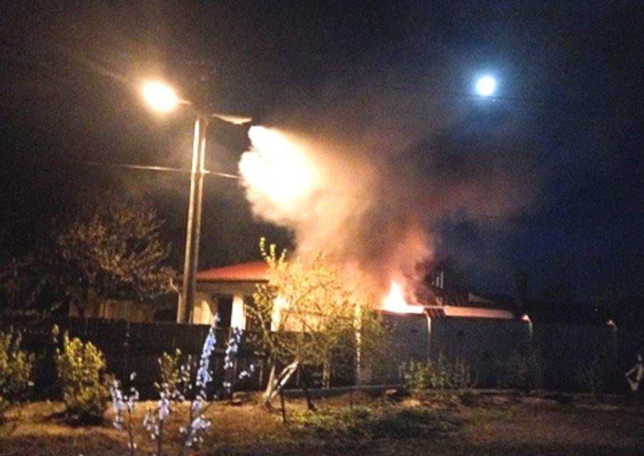 Защитнице леса под Киевом сожгли машину - фото 41982