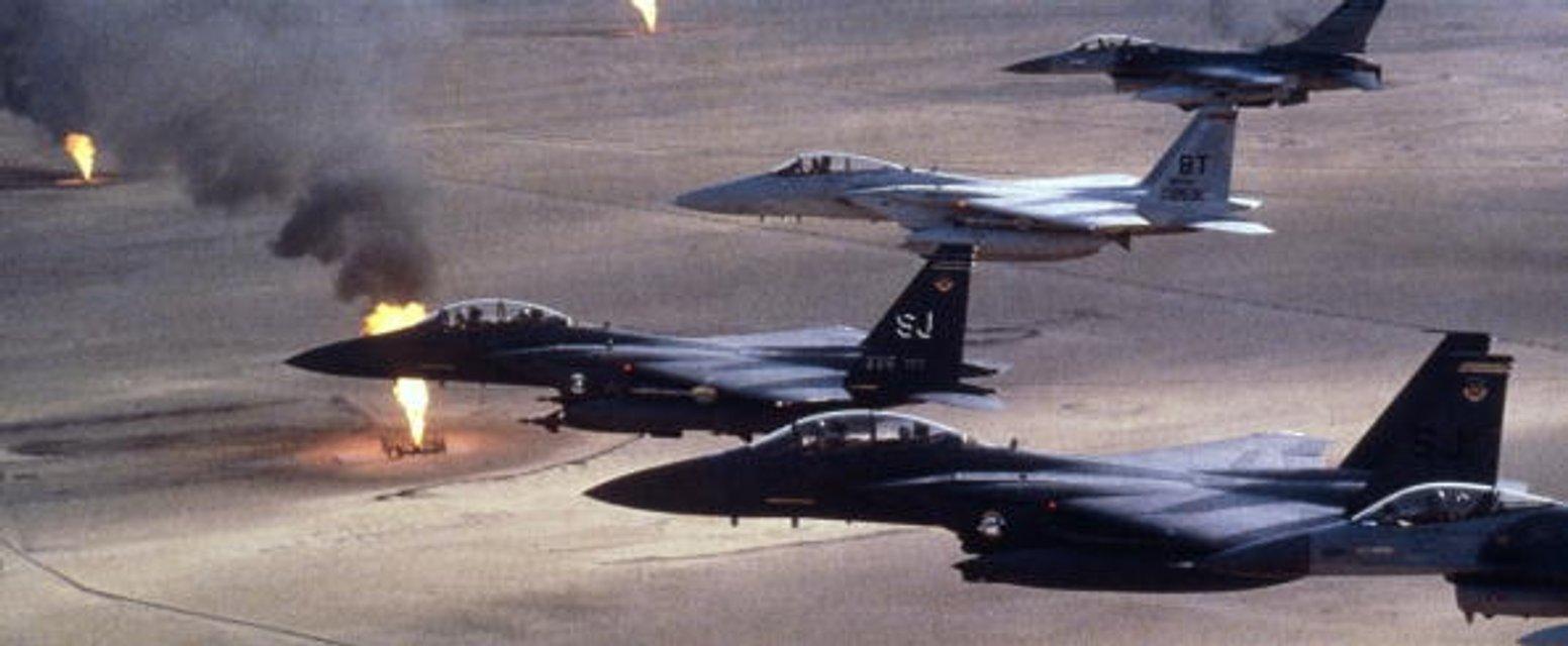 """""""Маленькая победоносная война"""". Ирак, 1991 - фото 41587"""
