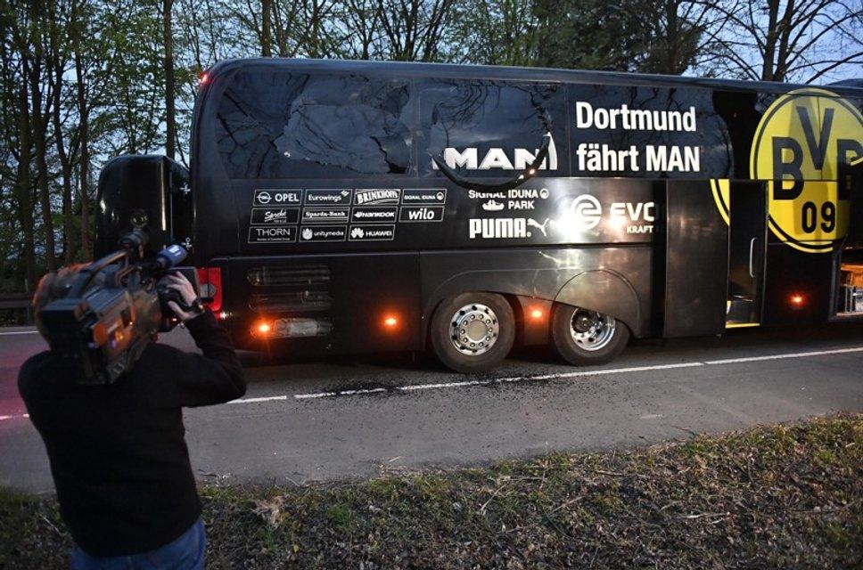 """Появились подробности взрыва возле автобуса футбольного клуба """"Боруссия"""" - фото 42128"""