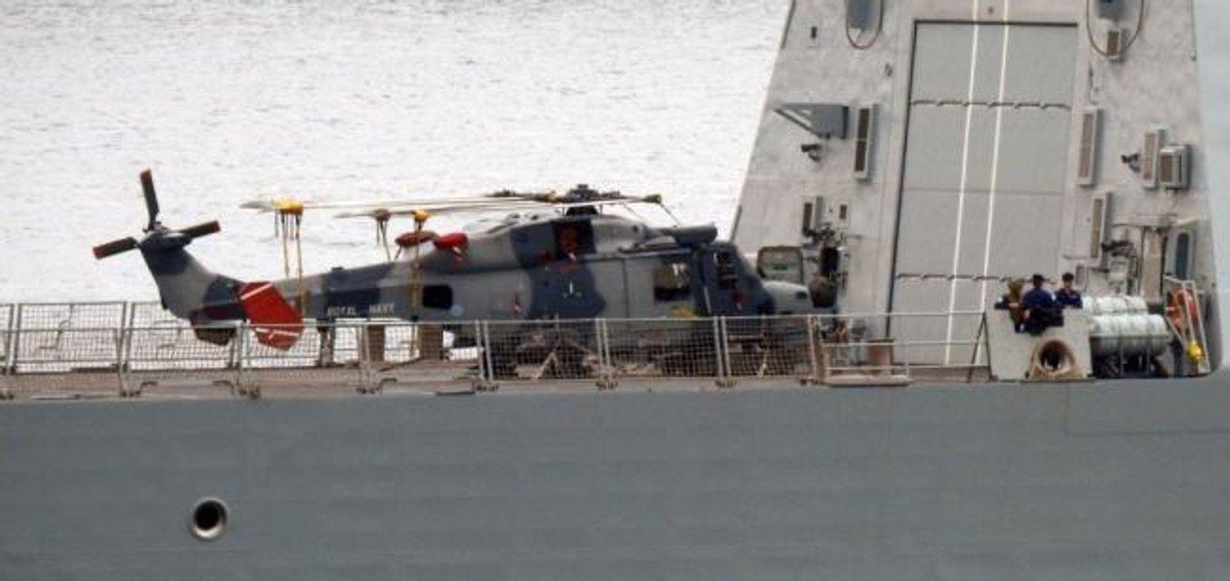 Крупнейший миноносец британских ВМС вошел в воды Черного моря - фото 43793