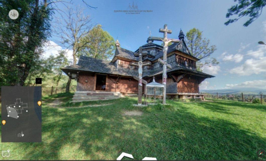 Googleсоздал виртуальный тур по деревянным церквям Карпат - фото 42867
