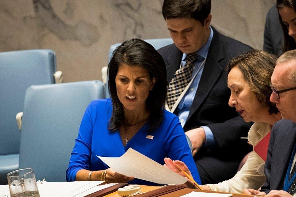 Посол США в Совбез ООН возмущена позицией России - фото 41290