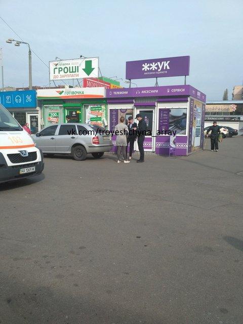 В Киеве автомобиль Савченко сбил пенсионерку - фото 42293