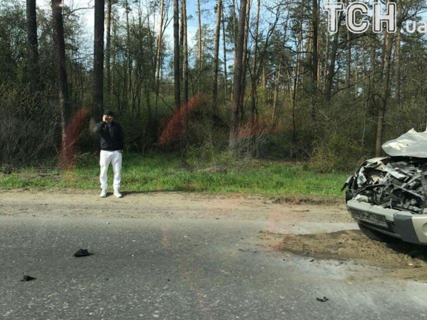 Известный боксер попал в ДТП под Киевом, сбив лося - фото 44144