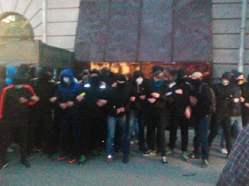 В Полтаве произошли стычки на акции против застройки: есть пострадавшие - фото 41332