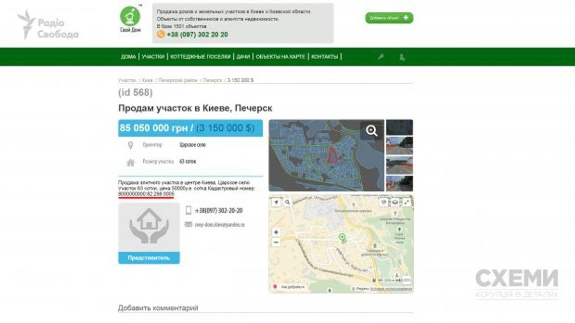 Порошенко продає землю в центрі Києва, отриману нелегальним шляхом - фото 41520