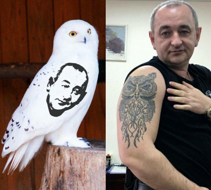 Как Матиос. Илья Кива показал свою татуировку - фото 43144
