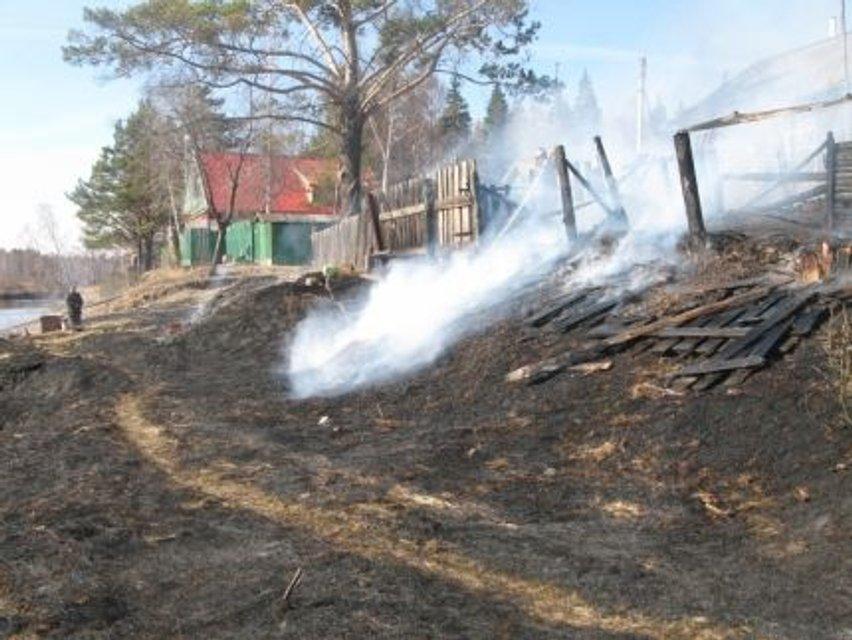 Масштабный пожар в Сибири: местные жители соревнуясь сожгли деревню - фото 44444
