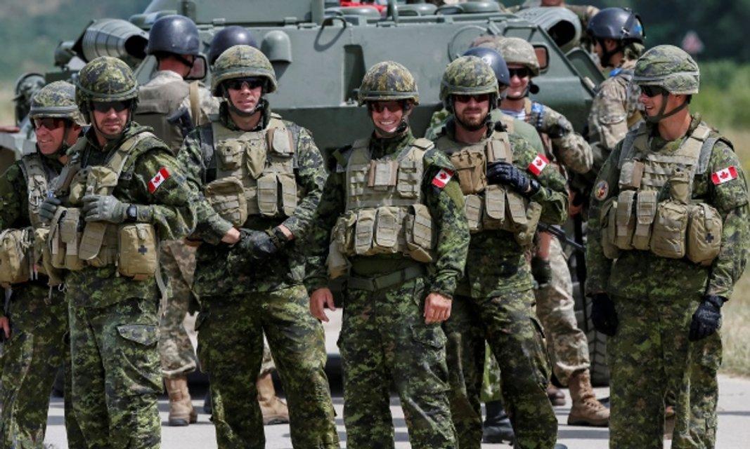 Канадські війскові на Яворівському полігоні - фото 40855
