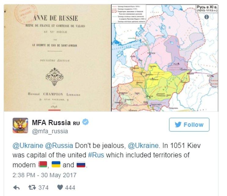 CNN рассказал о троллинге Украины над Россией в Twitter - фото 48895