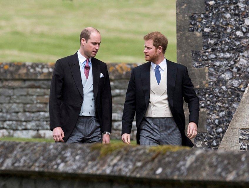 Принц Уильям и принц Гарри - почетные гости церемонии - фото 47875