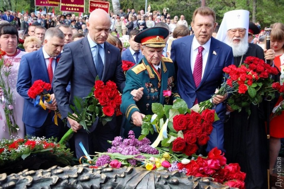 Не обошлось без Одессы. Потасовки, портрет Шухевича и 15 задержанных (фото) - фото 45664