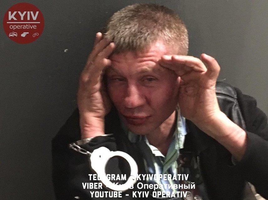 Стрельба в супермаркете Киева: появились фото и видео - фото 45466