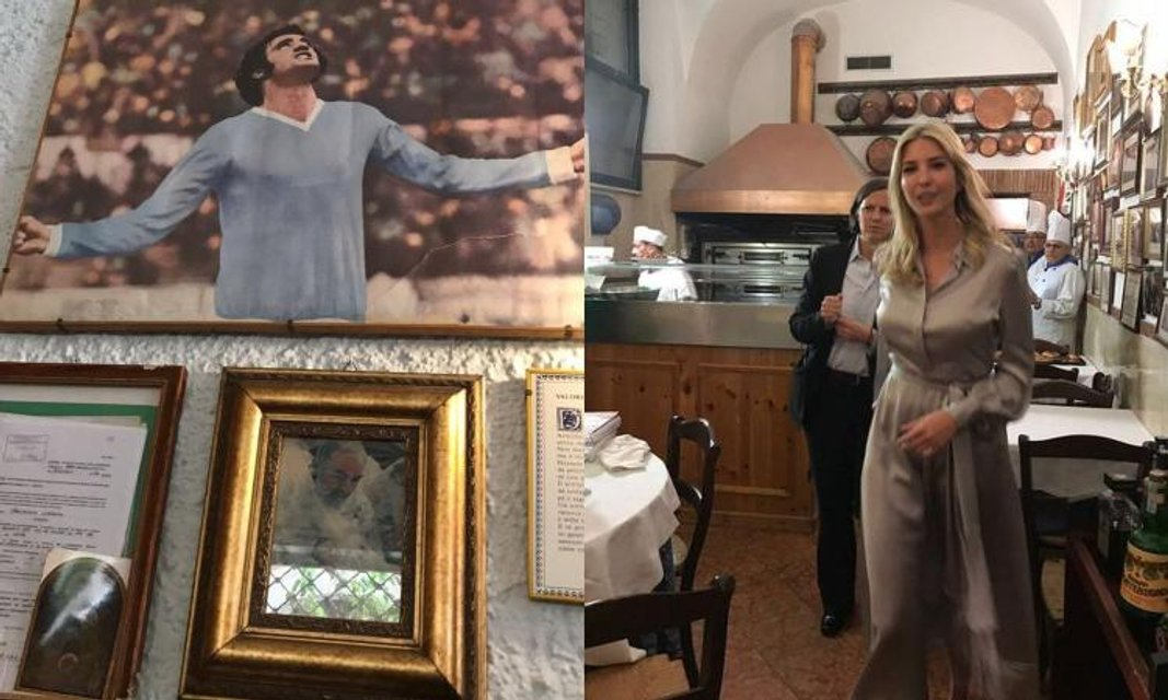 Дочь Трампа приняла футболиста за святого - The Guardian - фото 48321