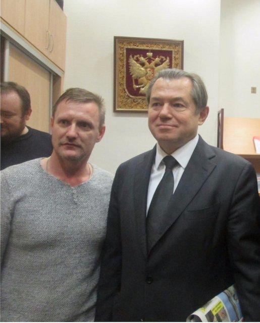 Петрунько и помошник Путина Сергей Глазьев - фото 44678