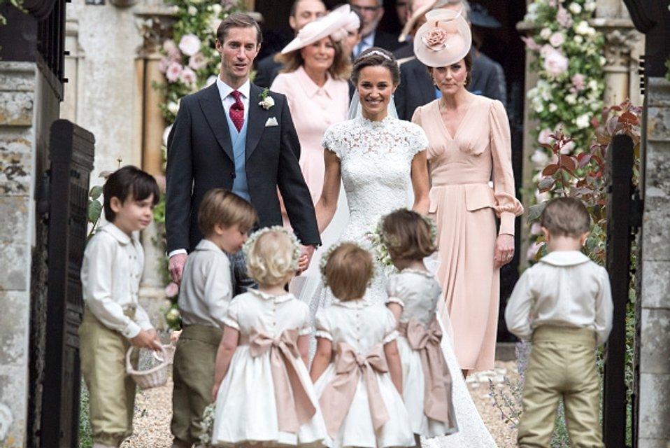 Пиппа Миддлтон и ее жених миллиардер - фото 47876