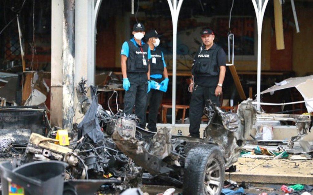 На юге Таиланда прогремело два взрыва - фото 45671
