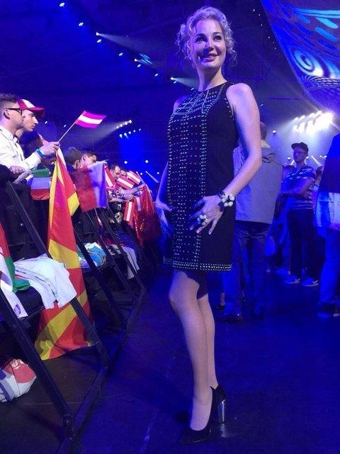 Жена убитого Дениса Вороненкова «блещет» на Евровидении - фото 46206