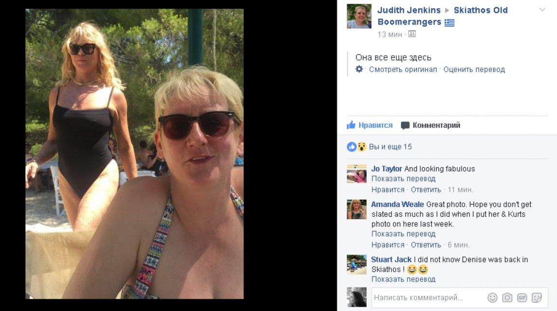 """Сеть """"взорвало"""" фото 71-летней Голди Хоун в купальнике - фото 54191"""