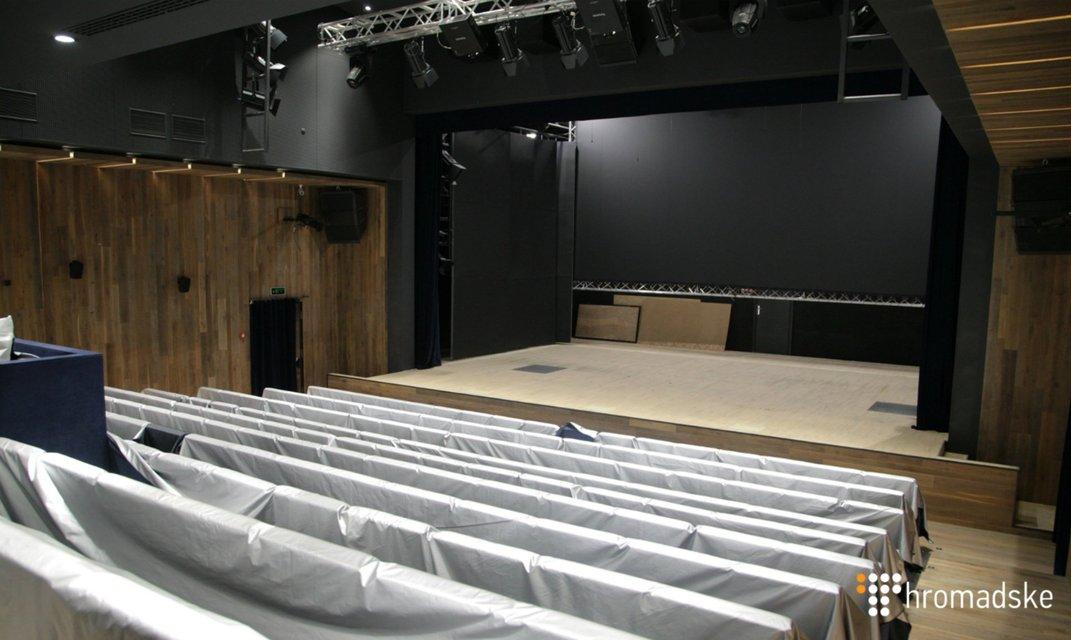 Ноу-хау для зрителей: Как выглядит Театр на Подоле (видео) - фото 55072