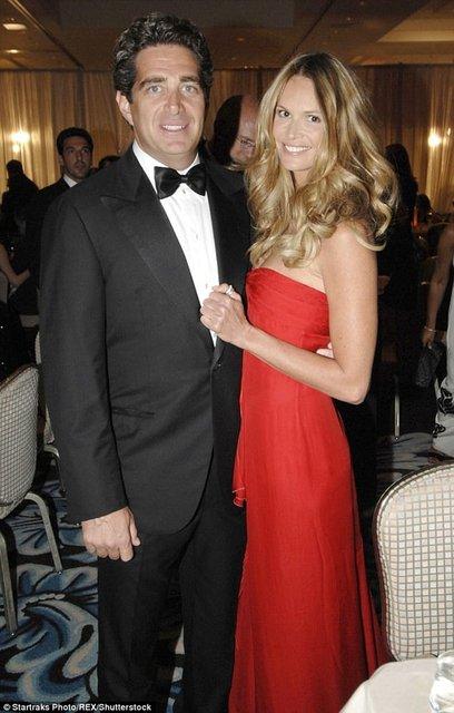 Эль Макферсон с бывшим супругом Джеффри Соффером - фото 54026